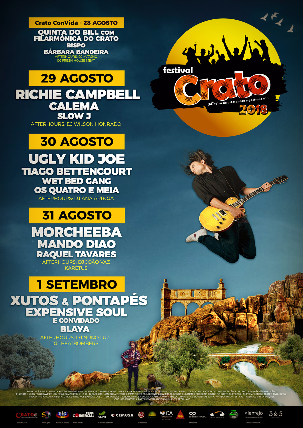 Cartaz Festival do Crato 2018