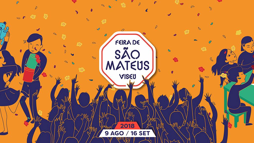 Cartaz Feira de São Mateus 2018
