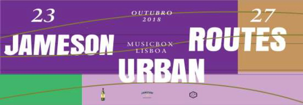 Cartaz Jameson Urban Routes 2018
