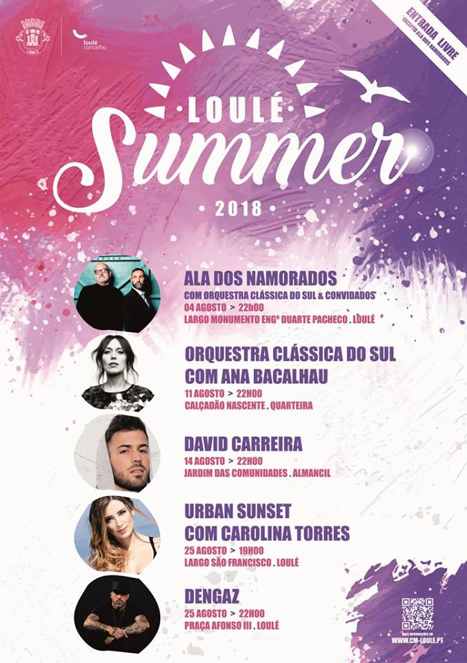 Cartaz 2018 Loulé Summer