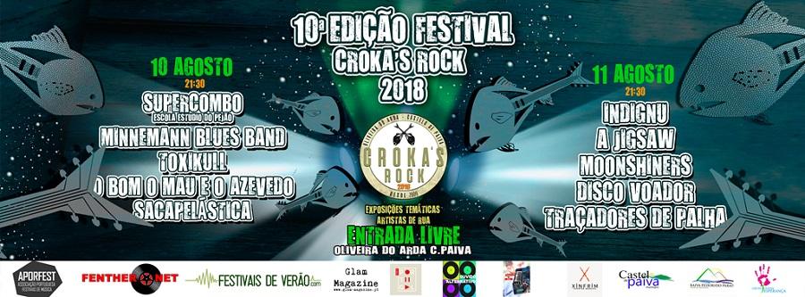 festival Croka´s Rock - Oliveira do Arda - Castelo de Paiva