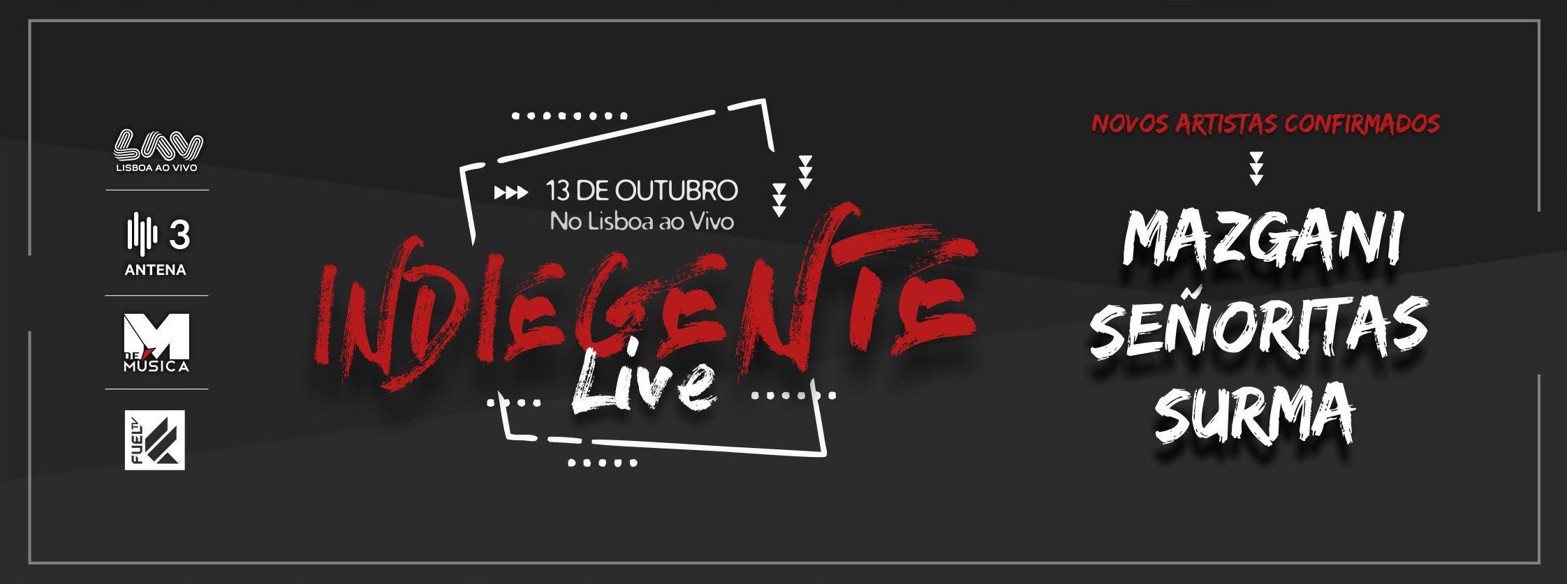 Cartaz Festival 2018 - Indiegente Live