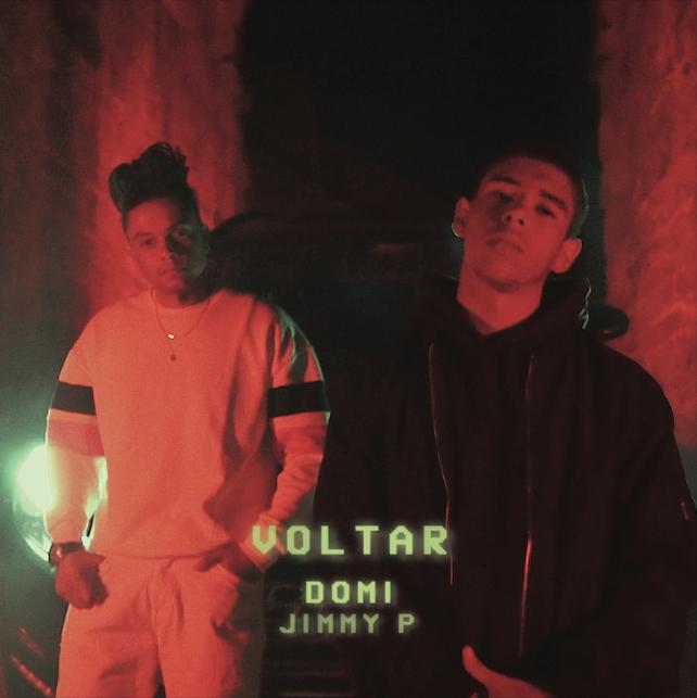 Domi - Jimmy P - Voltar - letra - lyrics