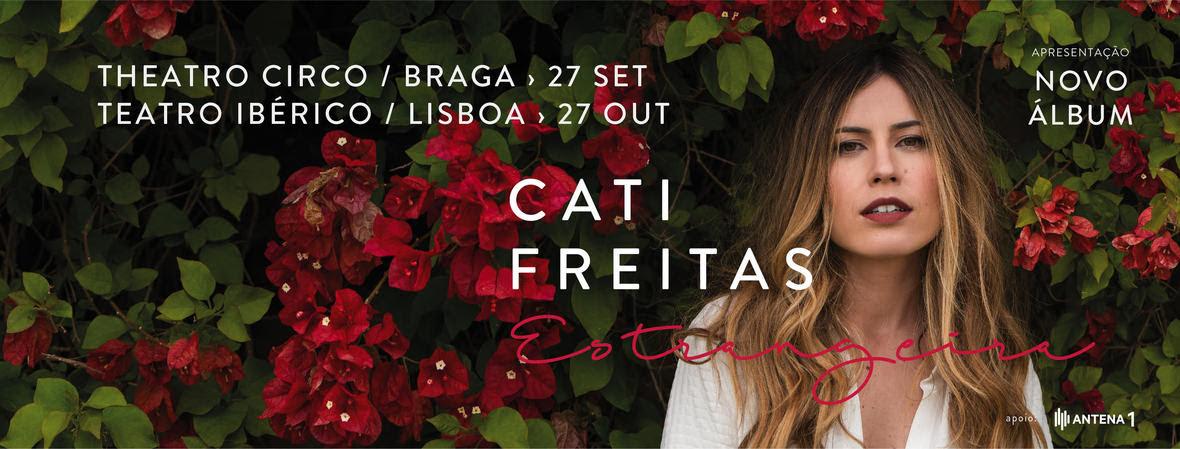 CATI FREITAS - novo álbum - ESTRANGEIRA
