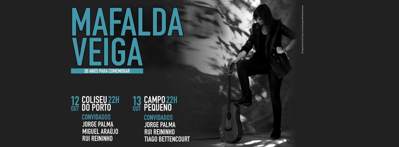Mafalda Veiga - 30 anos de carreira - concertos