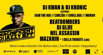 Sam The Kid - Carlão - Chullage - Mundo Segundo - Parkbeat Legends - Dj Jazzy Jeff - Dj Glue - Beatbombers