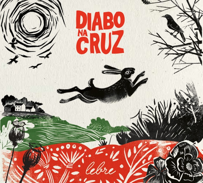 DIABO NA CRUZ - novo álbum - LEBRE - capa