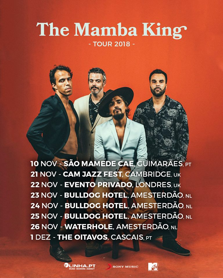 The Black Mamba - Mamba King - agenda - concertos - datas