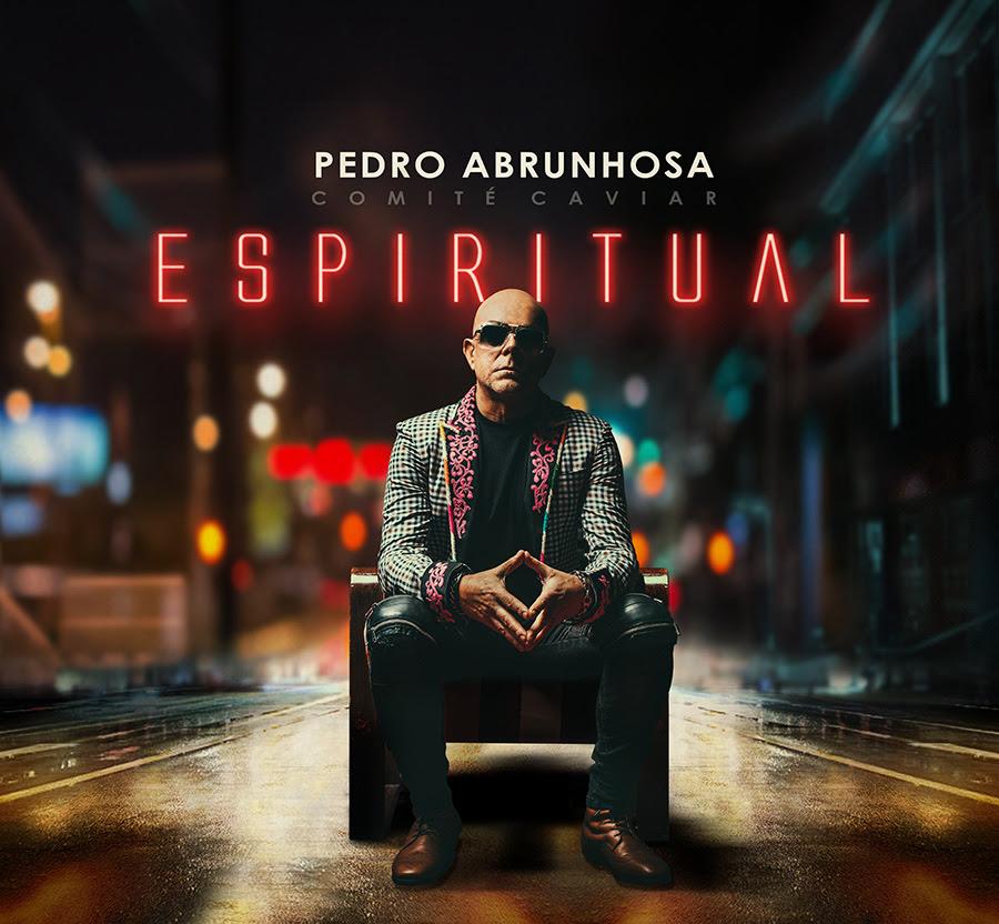Pedro Abrunhosa - Espiritual - novo álbum - disco - capa