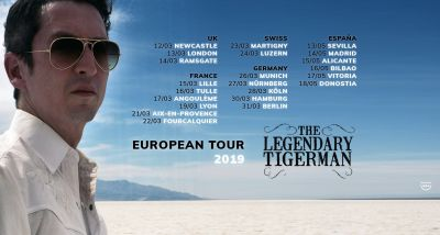 THE LEGENDARY TIGERMAN - concertos - Misfit - tour europeia