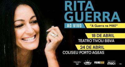 Rita Guerra - A Guerra na M80 - Tivoli - Coliseu Porto