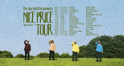 The Lazy Faithful - Nice Price - tour