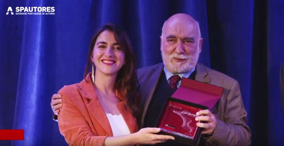 Marcia recebe prémio José da Ponte 2019