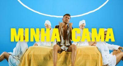 David Carreira - Minha Cama - Nego do Borel - Deejay Télio - letra - lyrics